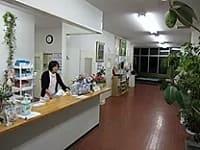 南部町病院受付の写真