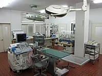 南部町病院処置室の写真