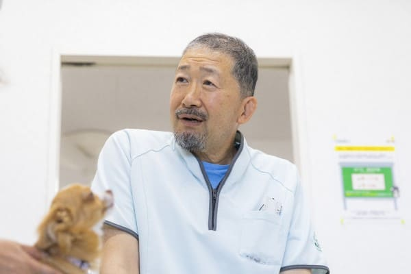 獣医師 武井好三の写真
